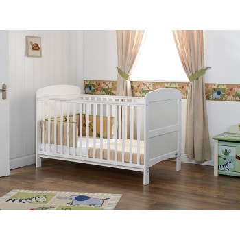 Grace Cot Bed in White