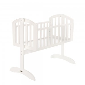 Sophie Swinging Crib in White  *Out of Stock - Back Soon*