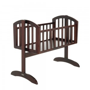 Sophie Swinging Crib in Dark  *Out of Stock - Back Soon*