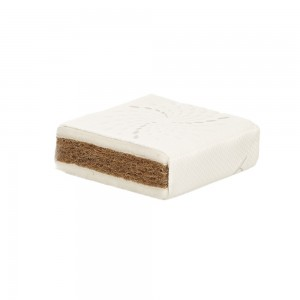 Natural Wool Cot Bed Mattress - 140 x 70cm