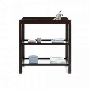 Open Changing Unit in Walnut