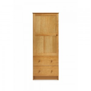 Single Wardrobe in Country Pine