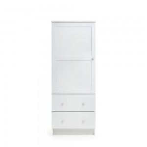 Single Wardrobe in White