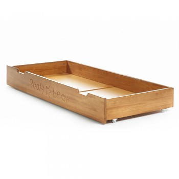 Winnie the Pooh Cot-bed Under Drawer in Country Pine