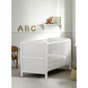 Kirsty White Cot Bed *Out of Stock - Back Soon*