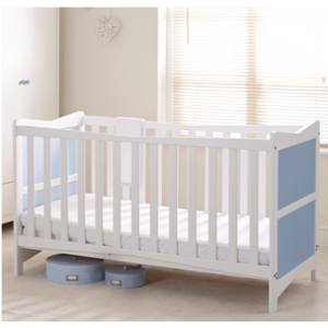 Kitty Blue & White Cot Bed *Out of Stock - Back Soon*