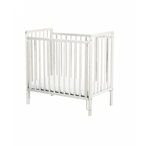 Space Saver White Cot including Mattress *Out of Stock - Back Soon*