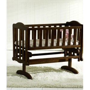 Glider Walnut Crib *Out of Stock - Back Soon*