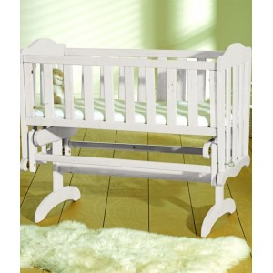 Glider White Crib *Out of Stock - Back Soon*