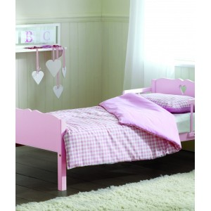 Heart Pink Junior Bed