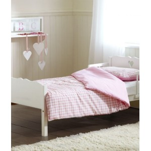 Heart White Junior Bed