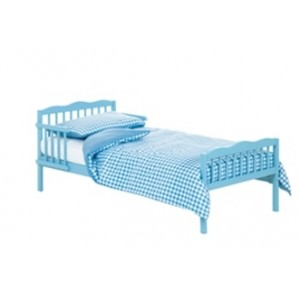 Junior Blue Bed in a Box with Cool Flow Mattress