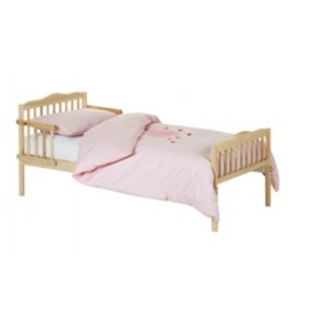 Junior Natural Bed in a Box with Cool Flow Mattress