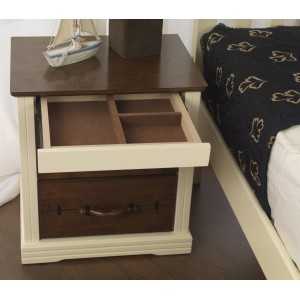 Amore Bedside {Assembled} *Low Stock - Selling Fast*