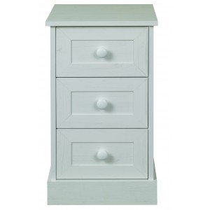 Asia 3 Drawer Bedside {Assembled} *Low Stock - Selling Fast*