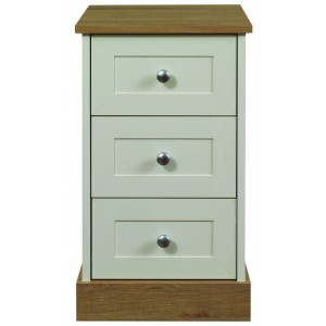 Beijing 3 Drawer Bedside {Assembled} *Low Stock - Selling Fast*