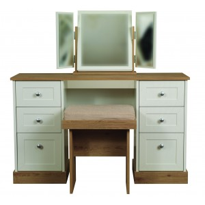Beijing Double Dressing Table {Assembled} *Low Stock - Selling Fast*