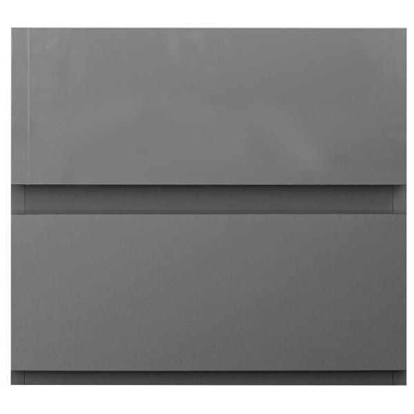 Carliyle Grey Highgloss Bedside [Assembled]