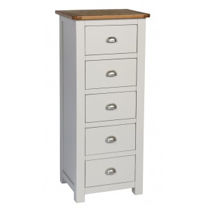 Cooper 5 Drawer Tallboy Chest (Assembled)