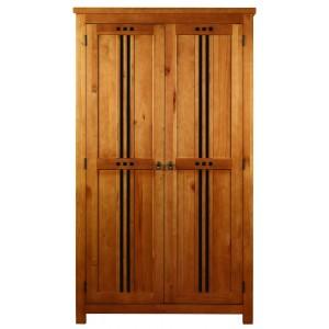 Curlew Oak Effect 2 Door Wardrobe