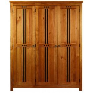 Curlew Oak Effect 3 Door Wardrobe