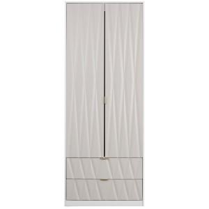 Jenson 2 Door Combi Wardrobe [Assembled]