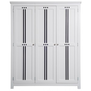 Lewis 3 Door Wardrobe