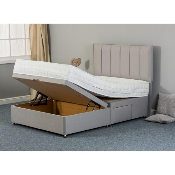 Calm Rest Silk 1000 3 Store Ottoman Divan Bed
