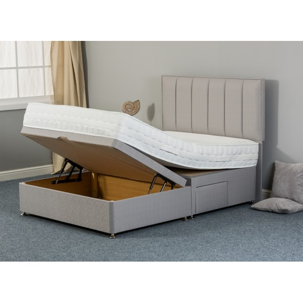 Hope Memory 3 Store Ottoman Divan Bed