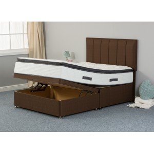 Katrina Silk 1000 Half-Lift Ottoman Divan Bed