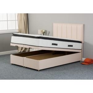 Katrina Silk 1000 End-Lift Ottoman Divan Bed