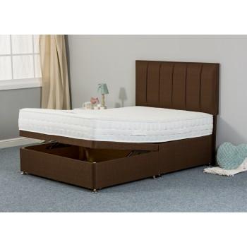 Maddie Pillowtop 1000 Half Lift Ottoman Divan Bed