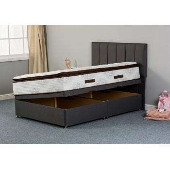 Natasha Wool 1000 Side-Lift Ottoman Divan Bed