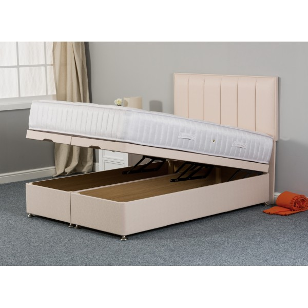Pixie Ortho End-Lift Ottoman Divan Bed