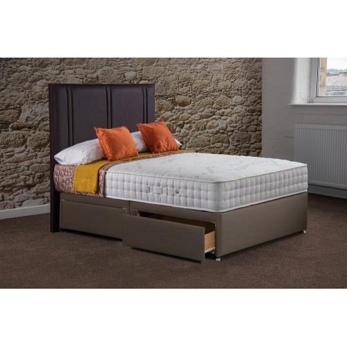 Sapphire Memory 1000 Half-Lift Ottoman Divan Bed
