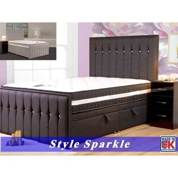 Style Sparkle Luxury Divan Frame (Band C)