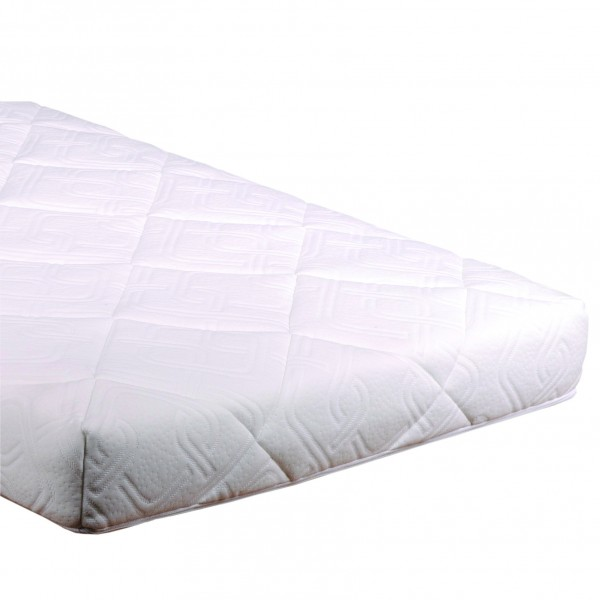 Knitted Airfoam Pocket Sprung Cot Mattress