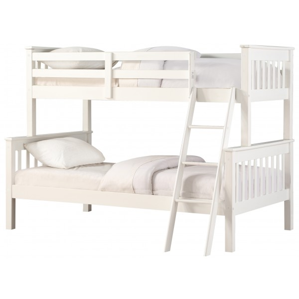 Connor White Triple Bunk