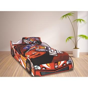 Formula Red Car Bed