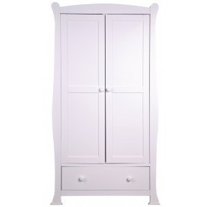 Izzy White Wardrobe *Low Stock - Selling Fast*