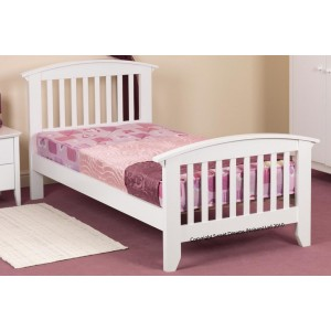 Ruby White Bed Frame *Low Stock - Selling Fast*