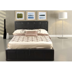 Tern Black Ottoman Bed