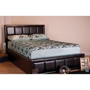 Tern Brown Ottoman Bed