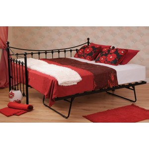 Scarlet Black Day Bed