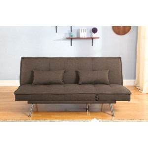 Arkansas Brown Sofa Bed