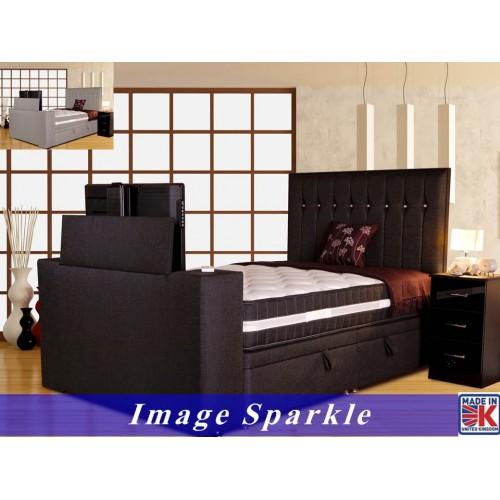 Image Sparkle Luxury TV Divan Frame