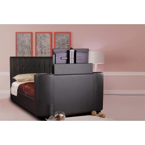 Ravel Black TV Bed *Low Stock - Selling Fast*