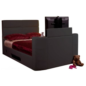 Vivaldi Brown TV Surround-Sound Bed *Low Stock - Selling Fast*