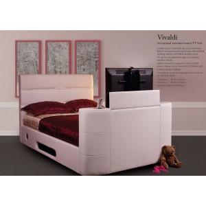 Vivaldi White TV Surround-Sound Bed *Low Stock - Selling Fast*