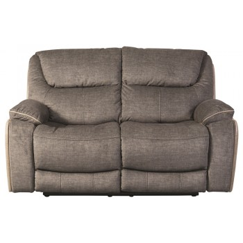 Langley Smoky 2 Seater Recliner Sofa